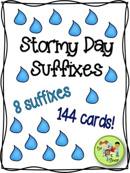 Stormy Day Suffixes