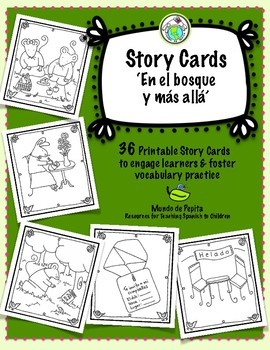 Story Card Set of 36 Printable Story Telling Cards