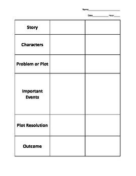 Story Comparison Chart