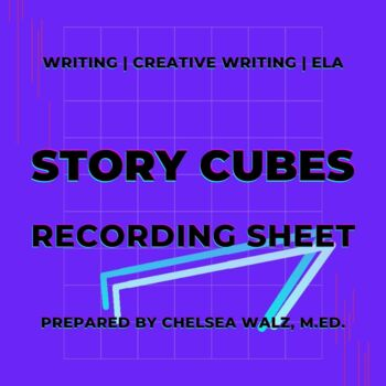 Story Cubes Story Recording Sheet