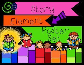 Story Element Poster Set Freebie