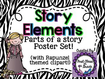 Story Element Posters (Zebra)