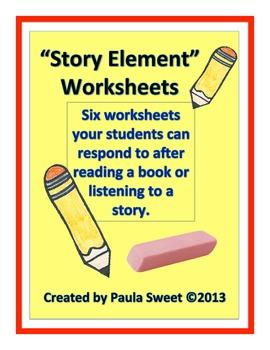 Story Element Worksheets