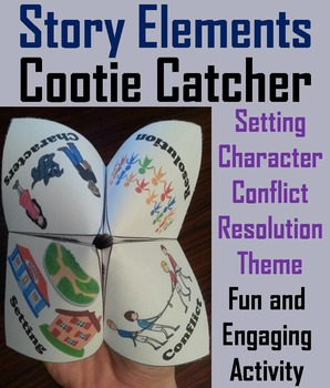 Story Elements Activity 5th 4th 3rd Grade Reading Comprehension