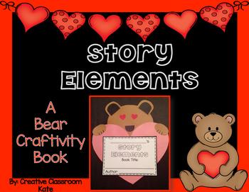 Story Elements Bear Craftivity