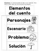 Story Elements Graphic Organizer SPANISH