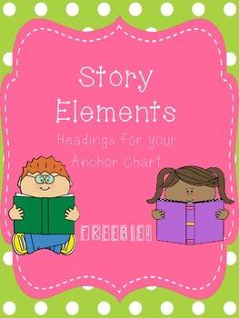 Story Elements Headings