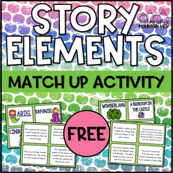 Story Elements Match Up
