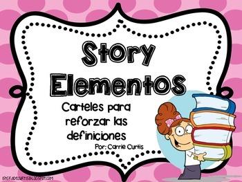 Story Elements Poster Set: Spanish: Historia del cartel de