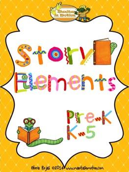 Story Elements - Retelling Rope FREEBIE