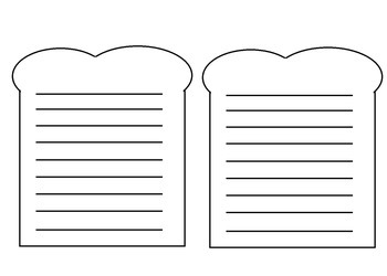 Story Elements Sandwich for Writing