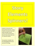 Story Elements Spinners!