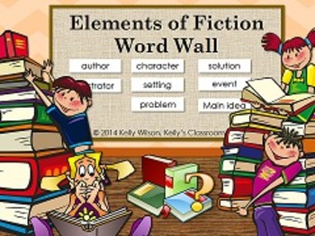 Story Elements Word Wall