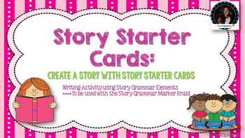 Made for use with Story Grammar Marker Braid: Create a Sto