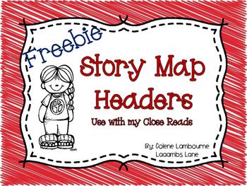 Story Map Headers