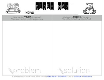 Story Map - Problem and Solution