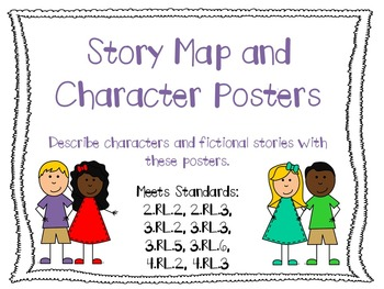 Story Map and Character Posters