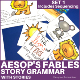Story Mapping and Sequencing: Aesop's fables (Stories Included)