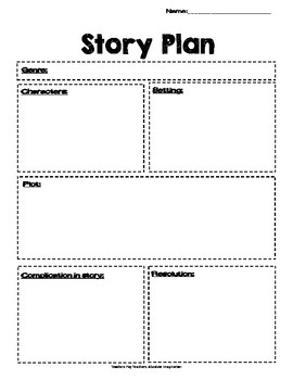 Story Plan Map/Worksheet