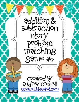 Story Problem Matching Game #2