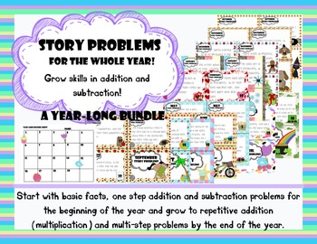 Story Problems Bundle