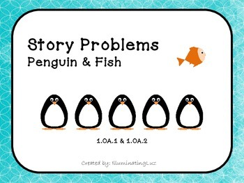 Story Problems - Penguin & Fish