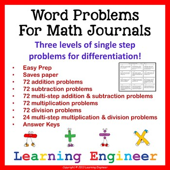 Addition Word Problems (Math Problem Solving) Subtraction