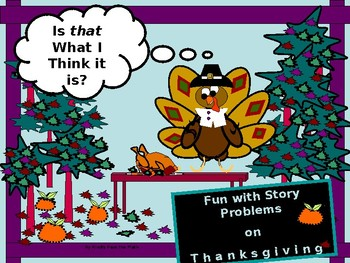 Story Problems for Thanksgiving:  Coin, Mixture, Work, and