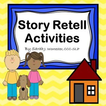Story Retell Activities - Recenlty Updated!
