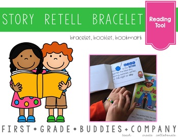 Story Retell Bracelet, Booklet, and Bookmark {Reading Comp
