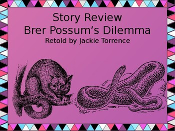 Story Review - Brer Possum's Dilemma