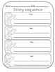 Story Sequence Graphic Organizer - Solid Lines