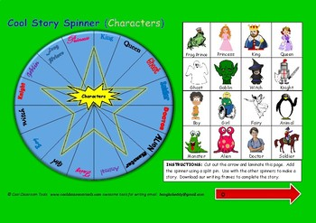 Story Spinner (Characters)