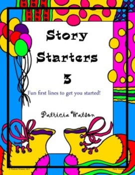 Creative Writing Story Starters 3: Fun writing prompts to
