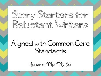 Story Starters {Aligned with the CCSS}