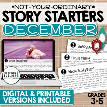 Story Starters: DECEMBER {Not Your Ordinary Writing Prompts!}