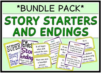 Story Starters & Endings (BUNDLE PACK)