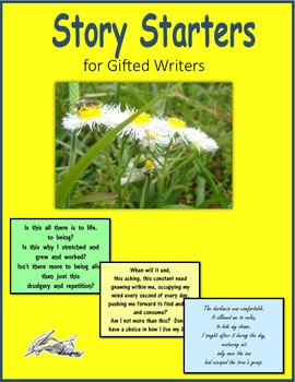 Story Starters for Gifted Writers