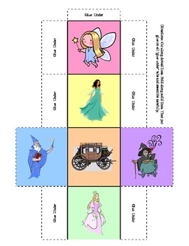 Story Starters - make your own fairy tale with a set of 24