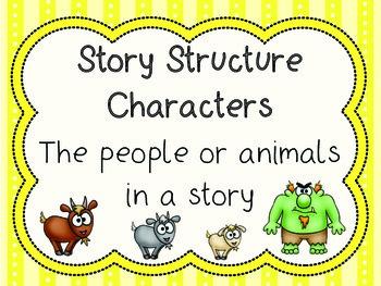 Story Structure - 3 Billy Goats Gruff