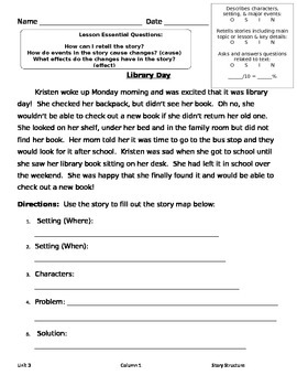 Story Structure Assessment