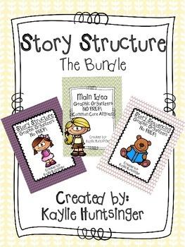Story Structure Bundle NO PREP