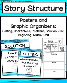 Story Structure {Posters and Graphic Organizers}