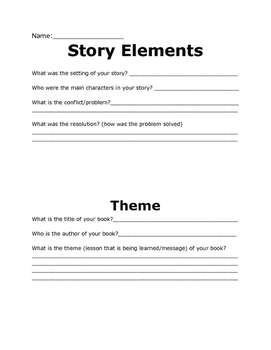 Story Structure and Theme