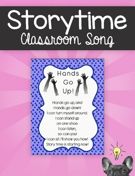 Storytime Classroom Song