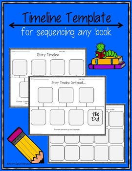 Sequencing Timeline Template For Any Book
