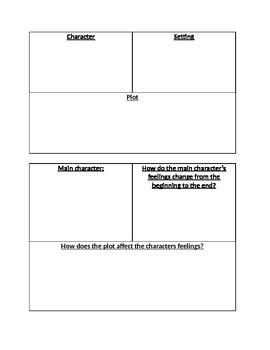 Story element chart