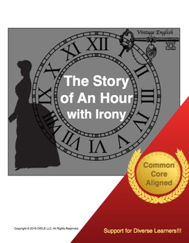 "the use of irony in the story of an hour by kate chopin Irony in the ""story of an hour"" by kate choplin the story of an hour by kate choplin is about an older woman who struggles with coercion brought about by her."