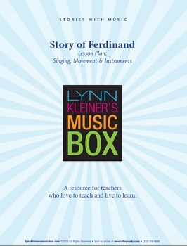 Story of Ferdinand: Stories with Music for Valentine's Day