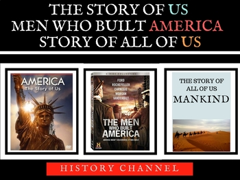 Story of Us -Men Who Built America -Mankind Story of US -H